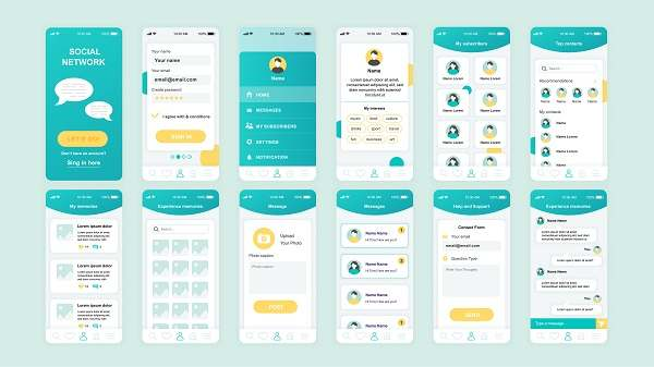 طراح لایه باز رابط کاربری اپلیکیشن موبایل