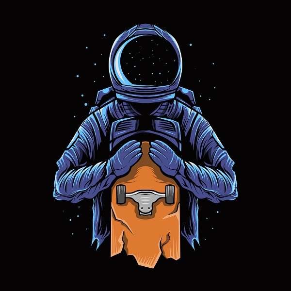 دانلود بک گراند لباس فضایی