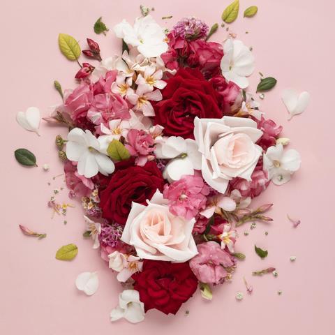 تصویر باکیفیت تبریک روز ولنتاین