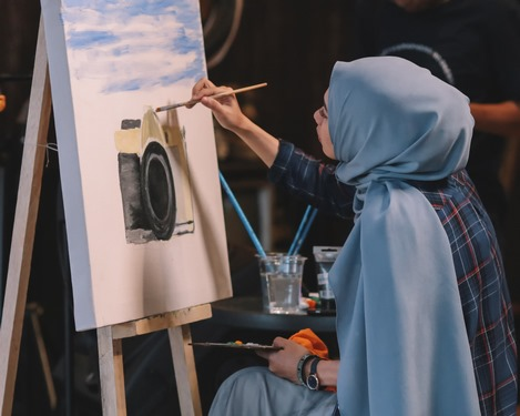 دانلود عکس باکیفیت دختر مسلمان با حجاب ☀️