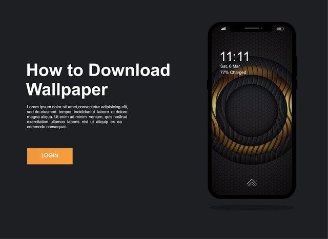 دانلود طرح لایه باز رابط کاربری اپلیکیشن موبایل با فرمت EPS 🔥