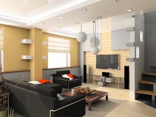 دانلود تصویر باکیفیت طراحی داخلی خانه 🔥