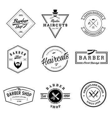 دانلود لوگو لایه باز آرایشگاه مردانه 🔥
