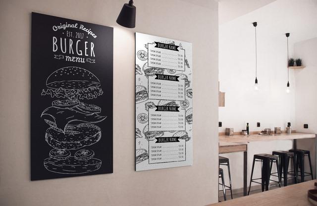 دانلود طرح لایه باز منو رستوران با فرمت PSD 🔥